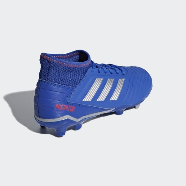 adidas Guayos Predator 19.3 Terreno Firme - Azul  b0cf915bb922c