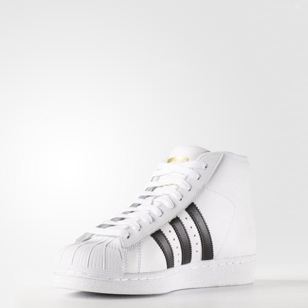 adidas Pro Model Shoes - White   adidas US