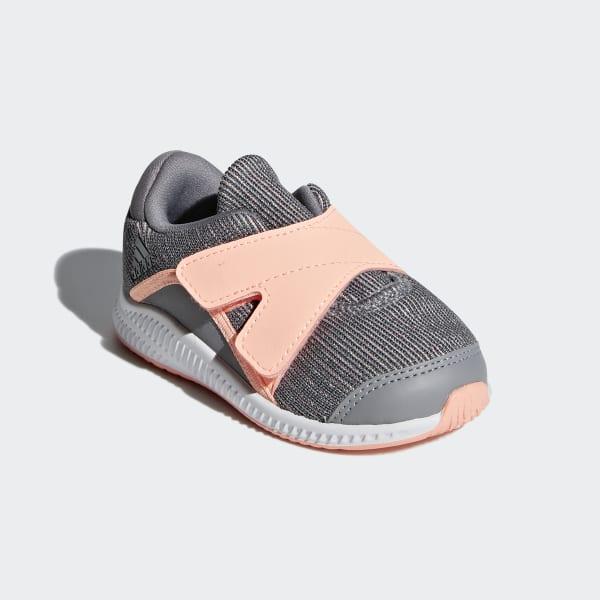 Billig Deutschland Adidas FortaRun X grauOrangeWeiß Schuhe