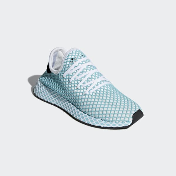 3885db3d0ed0b9 adidas Deerupt Runner Parley Shoes - Blue