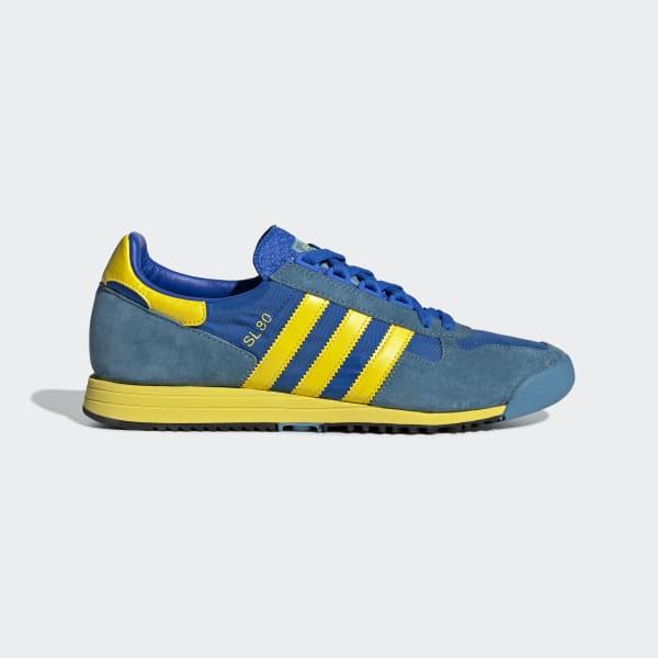 adidas SL 80 Shoes - Blue   adidas