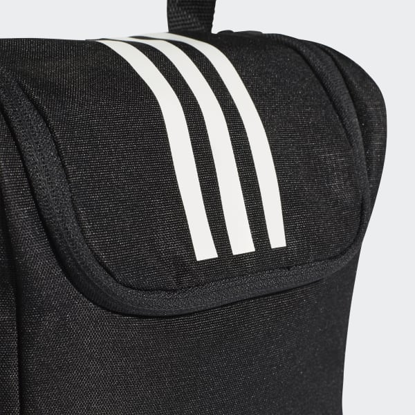 965abb76879cf adidas 3-Stripes Shoe Bag - Black | adidas Australia