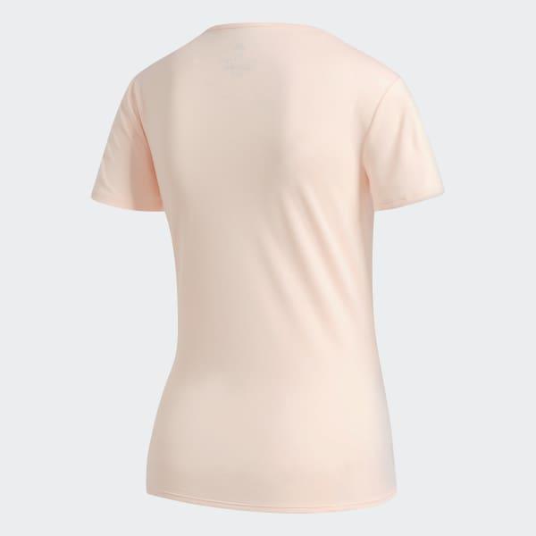 ead6d98f409 Camiseta Response - Rosa adidas