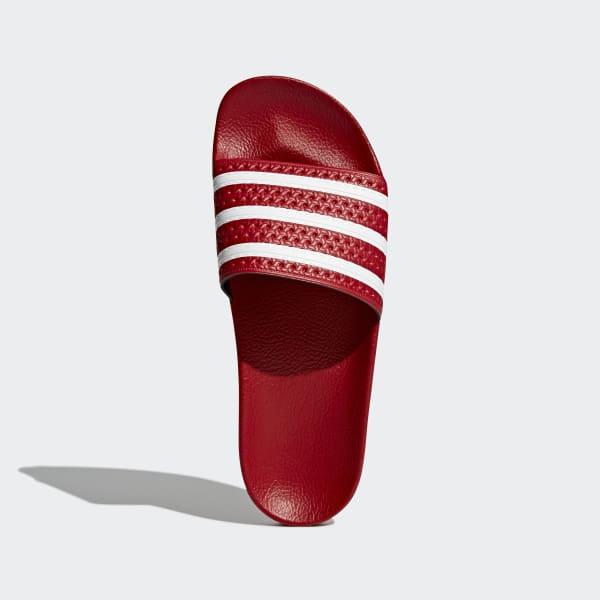 c88cca128f63 adidas adilette Slides - Red