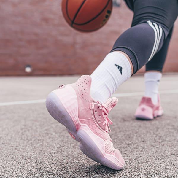 trabajador Granjero Calamidad  adidas Harden Vol. 4 Shoes - Pink | adidas US