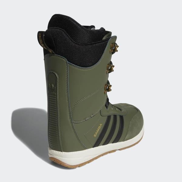 676bfc0a734 adidas Samba ADV Boots - Green | adidas Finland