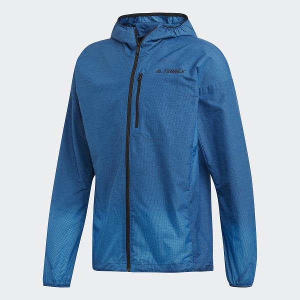 51bda22f adidas Agravic Windweave jakke - Blå   adidas Norway