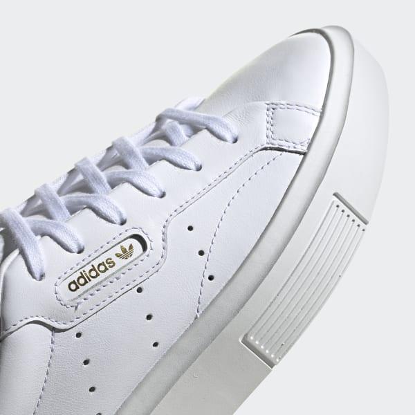 adidas sleek super bianco