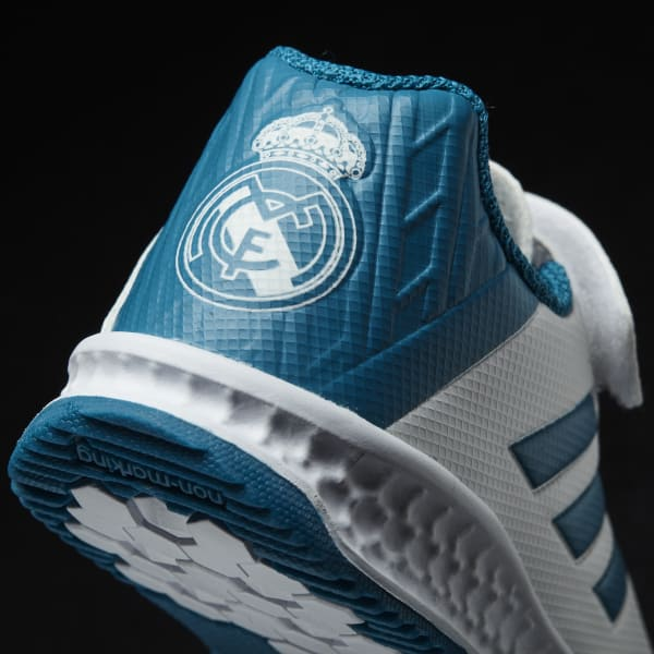 adidas Tenis RapidaTurf Real Madrid - Blanco  324ee31a6913a
