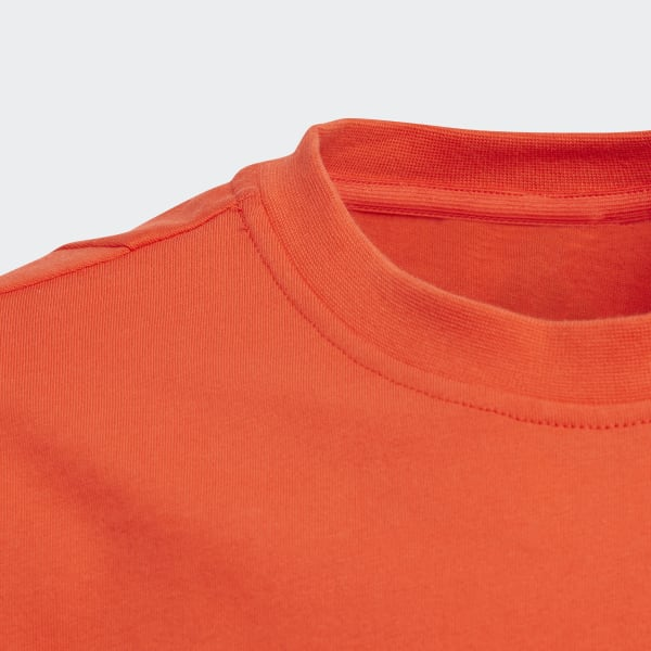 Polera deportiva Linear Essentials - Rojo adidas  11dcd24bfa3e4
