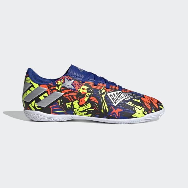 adidas Nemeziz Messi 19.4 Indoor Shoes - Blue   adidas US