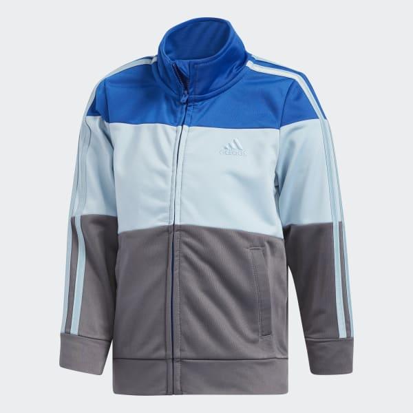 Colorblock Jacket Set