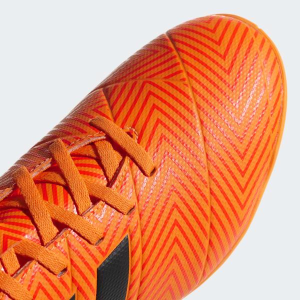 39942651ba410 Chuteira Nemeziz Tango 18.4 Futsal - Laranja adidas