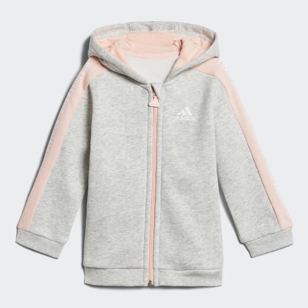 Conjunto Linear Hooded Fleece