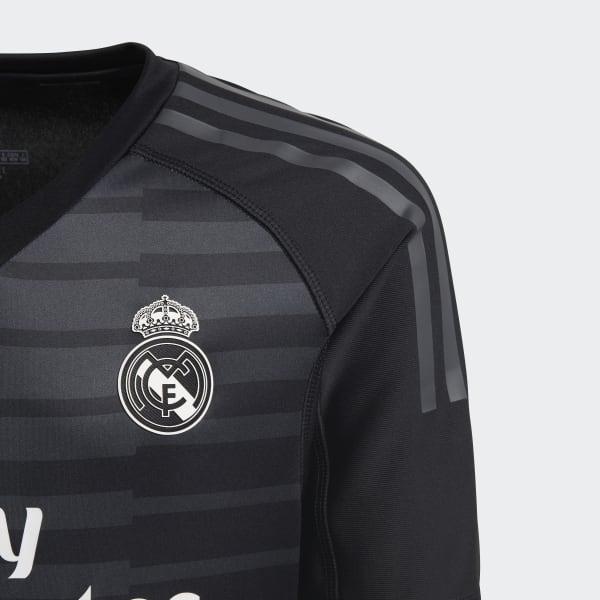 a4baf94e0354d adidas Jersey de Arquero Real Madrid Local Niño 2018 - Negro ...