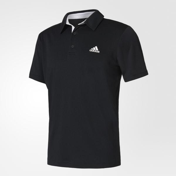 b6fb083ae4 Camisa Polo Approach - Preto adidas