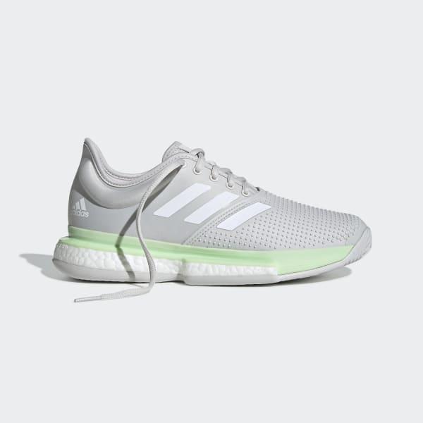 adidas SoleCourt Shoes - Green   adidas