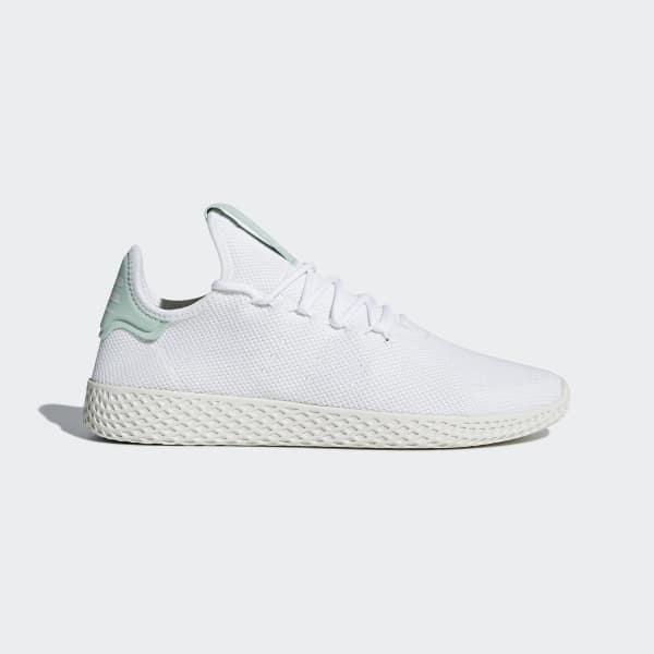 adidas Originals Pharrell Williams Tennis HU Trainers In White CQ2168
