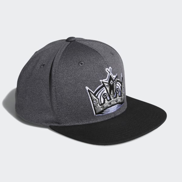 Kings Snapback Heathered Grey Hat