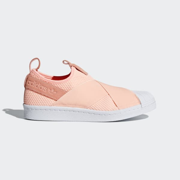 adidas Superstar Slip-on Shoes - Orange | adidas US | Tuggl