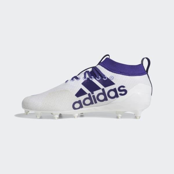 purple adidas cleats