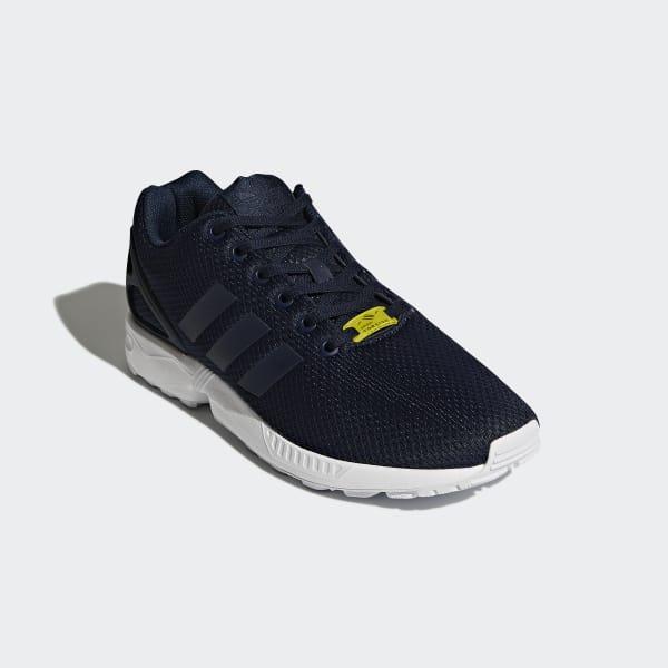 big sale f1ac8 bbbdc adidas ZX Flux Shoes - Blue   adidas UK