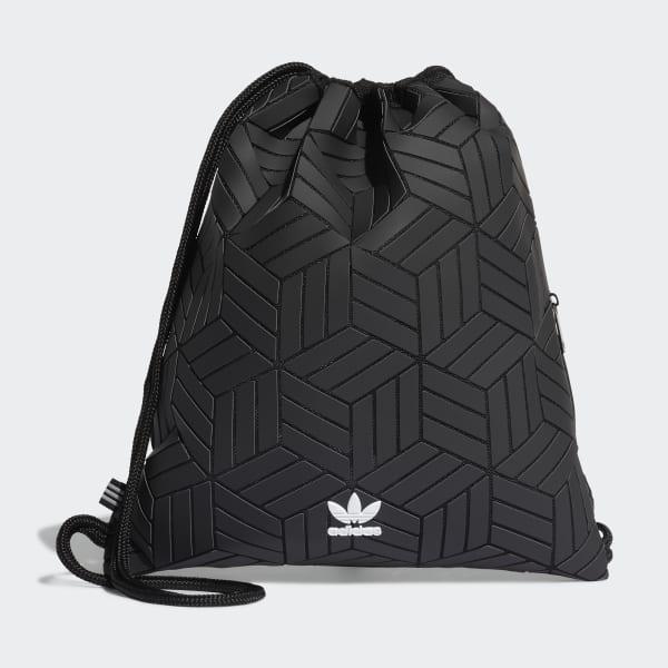 adidas Originals Sportbeutel mit Logo Print Schwarz