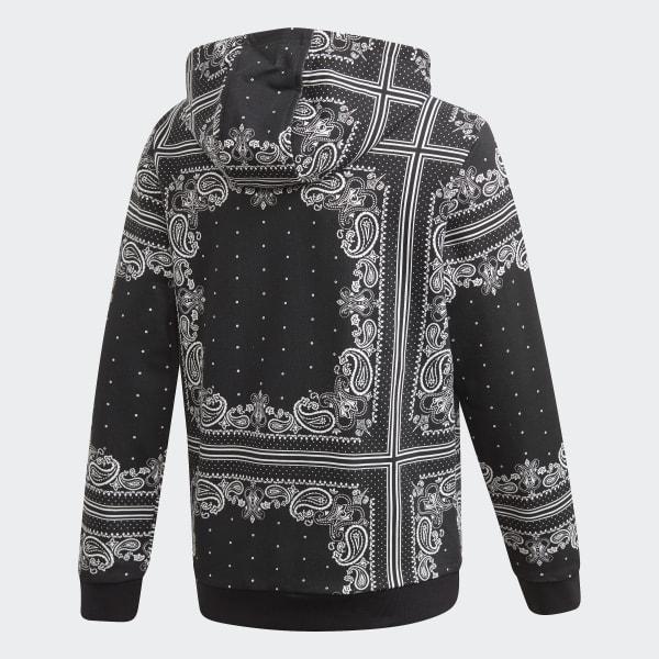 Sweat-shirt à capuche Bandana