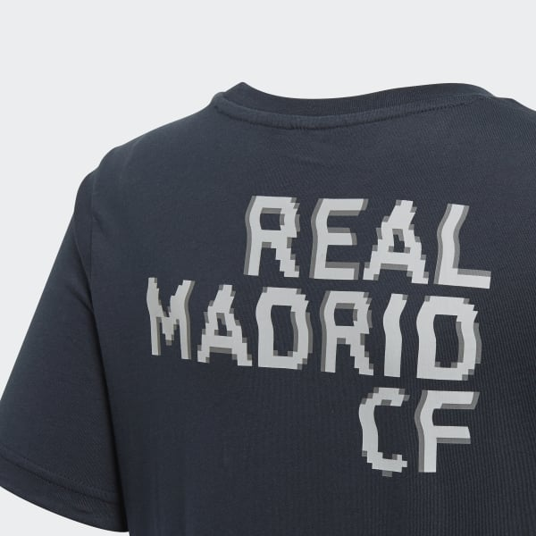 Adidas Boys T-shirts Football Real Madrid Graphic Kids Tee Training DP2923 New