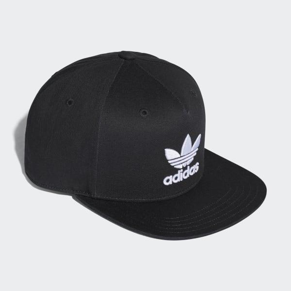 adidas Gorra Trifolio Snap-Back - Negro  34684ca77c3