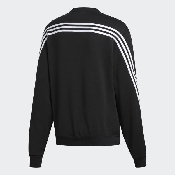 3 Streifen Wrap Sweatshirt