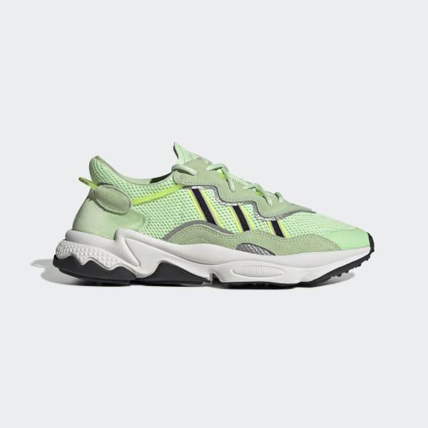chaussure adidas vert fluo