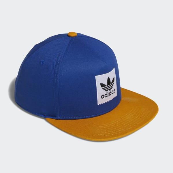 e9953ce79a221 adidas Gorra Trifolio Snapback Two-Tone - Azul