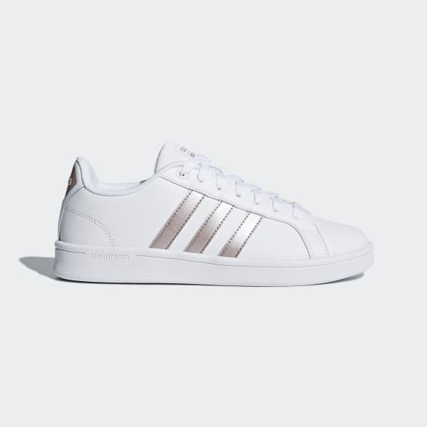adidas Cloudfoam Advantage Shoes White | adidas UK
