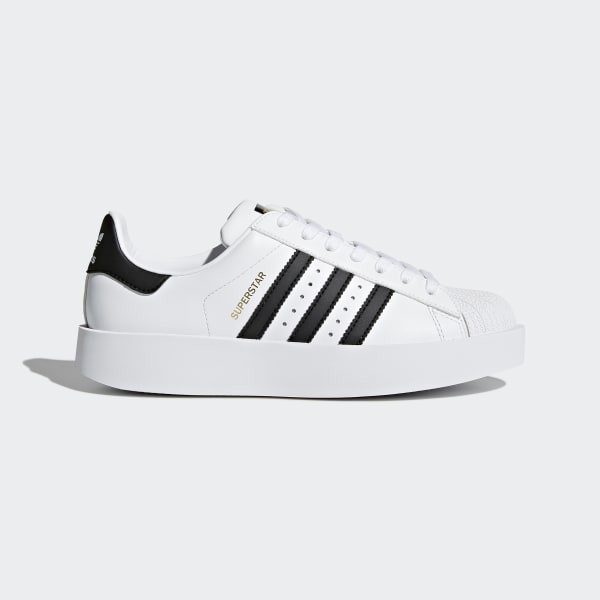 9e2a2b95030 adidas Tenis Superstar Bold Mujer - Blanco