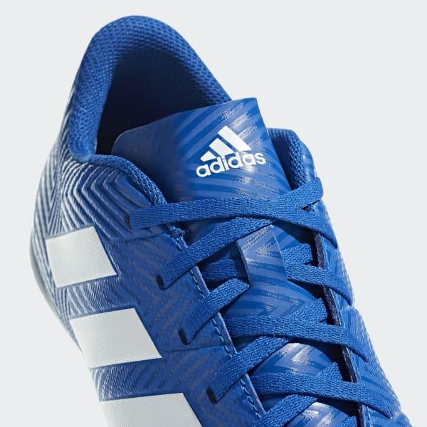 timeless design b3ded d1b24 adidas Calzado de Fútbol Nemeziz Tango 18.4 Bajo Techo - Azul   adidas  Mexico