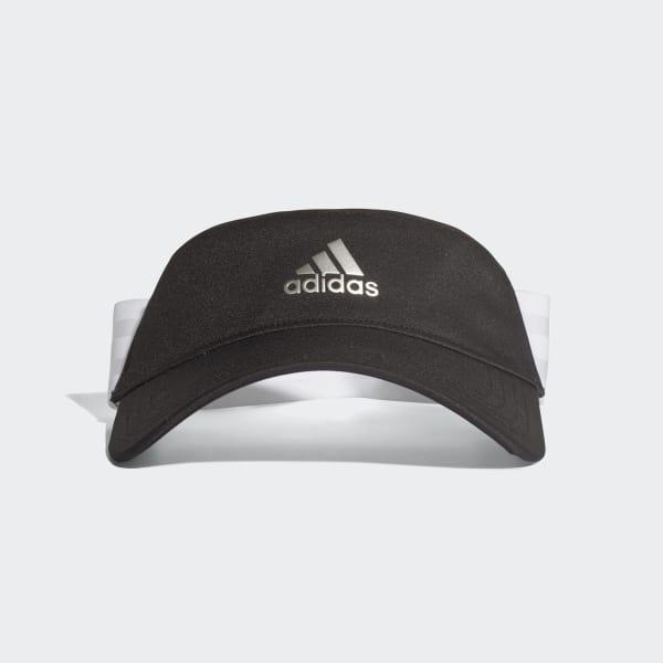adidas 3-Stripes Visor - Black  5c88f8ecd93