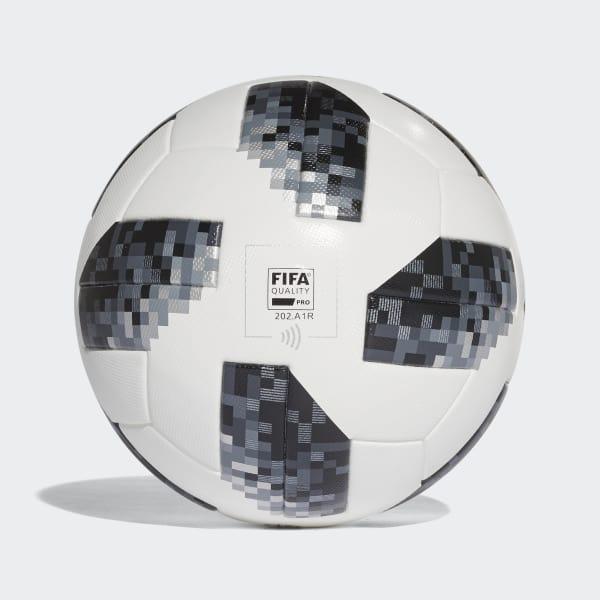 adidas Balón Oficial Partidos Copa Mundial de la FIFA 2018 - Blanco ... 8740eea066ffe