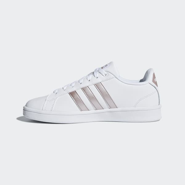 adidas Cloudfoam Advantage Shoes - White | adidas Ireland