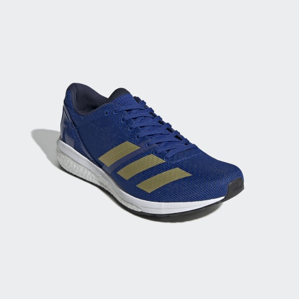 odio piel Secretar  adidas Adizero Boston 8 Shoes - Blue | adidas US