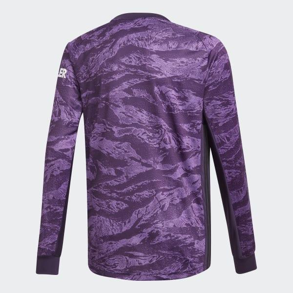 buy popular c899b 1ba4e adidas Manchester United Home Goalkeeper Jersey - Purple | adidas Finland