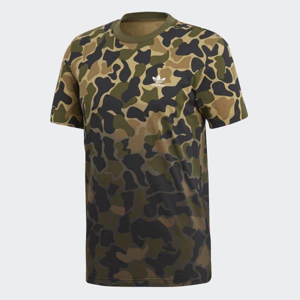 8d806c9330e20 Camiseta Camouflage - Multicolour adidas