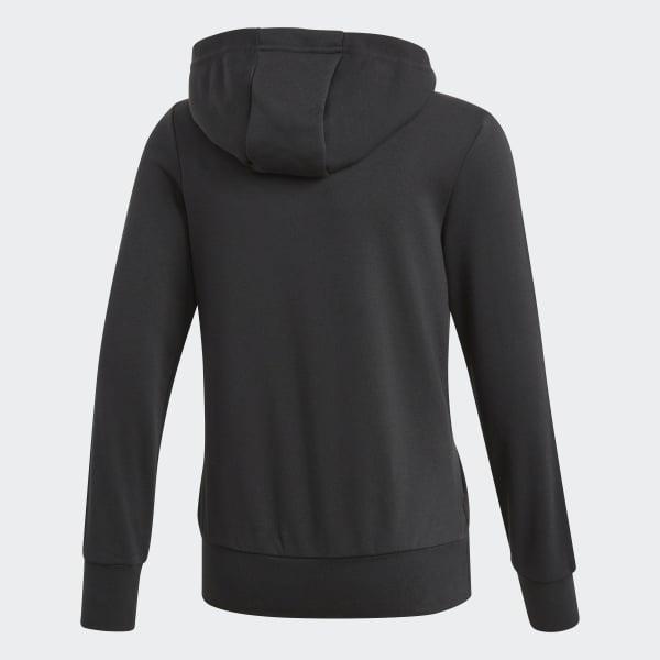 Suéter con Cierre y Capucha Essentials 3 Tiras
