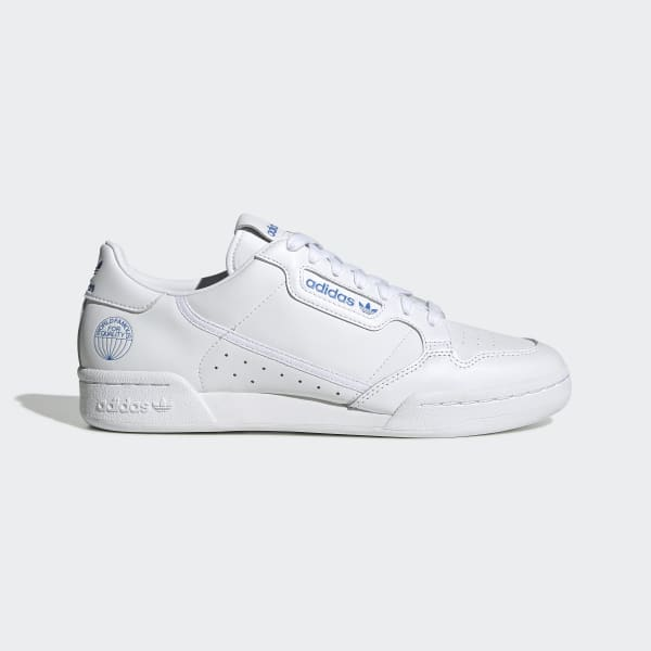 Alacena Vagabundo sílaba  Men's Continental 80 Cloud White and Blue Bird Shoes | adidas US