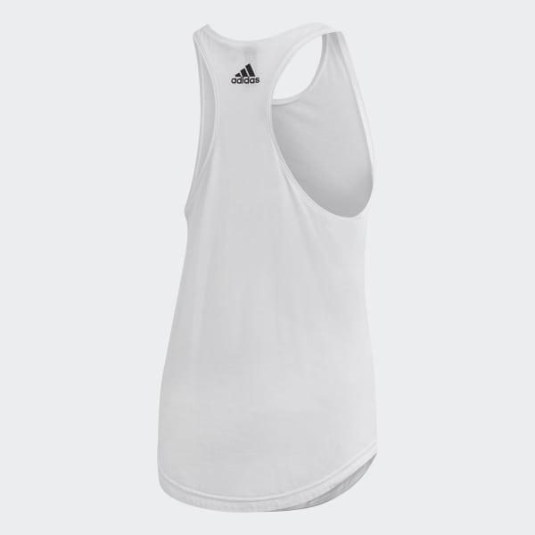 e41b4f65ac Regata Essentials Linear Folgada - Branco adidas   adidas Brasil
