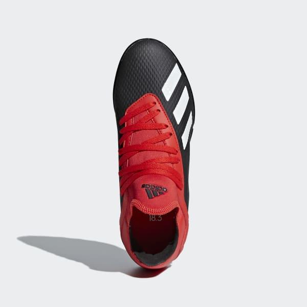 official photos 45a05 d89b2 Zapatos de Fútbol X 18.3 TF J - Negro adidas   adidas Chile