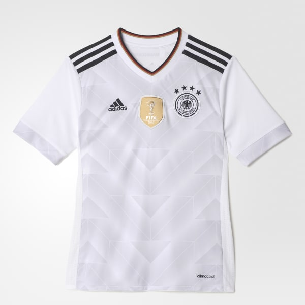 Camisa Alemanha 1 Infantil - Branco adidas  9df0b2070edd8