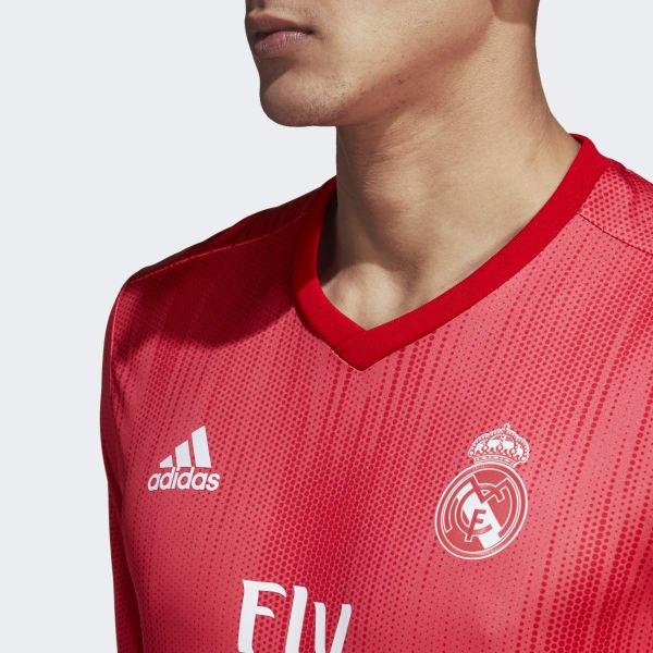 Camiseta tercera equipación Real Madrid - Rojo adidas  1240a4a576544