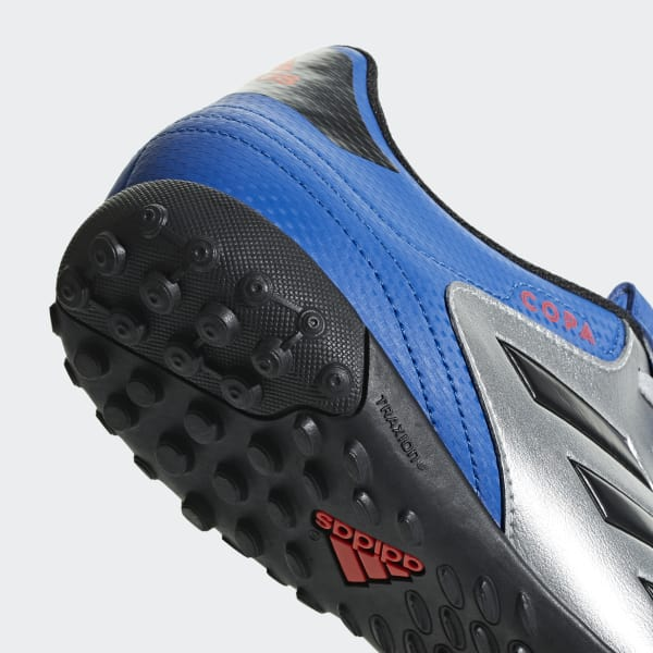 adidas Guayos Copa Tango 18.4 Césped Artificial - Plateado  c2333cffea364