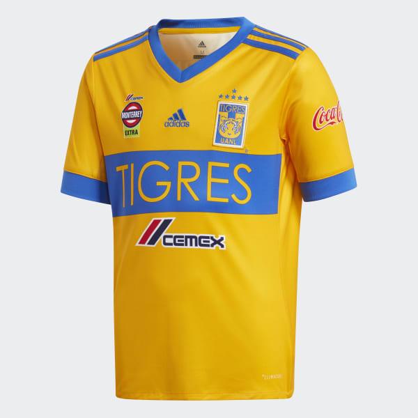 563a482fc ... designer fashion 4a1e9 4bb18 adidas Jersey Tigres UANL de Local -  Amarillo adidas Mexico ...